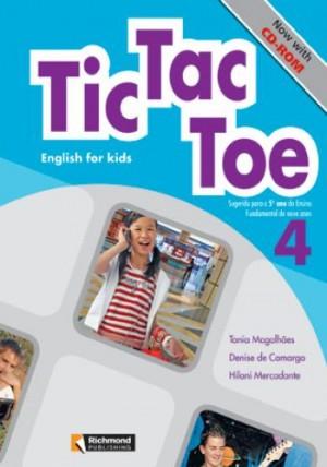 Tic Tac Toe - Inglês Volume 4 / 5. Ano