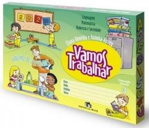 Vamos Trabalhar Caderno de Atividades Educação Infantil 3