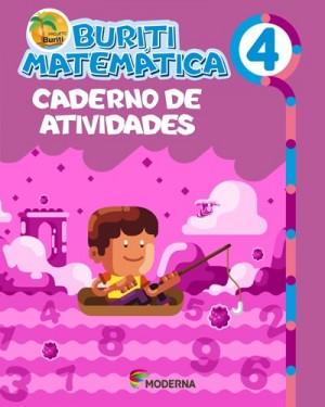 Projeto Buriti Matemática Atividades 4ºAno - 4ªEdição
