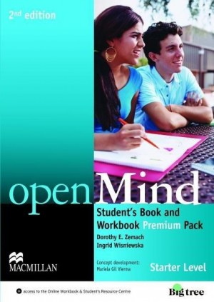 Openmind 2nd Edition Student´s Book Premium Pack Starter