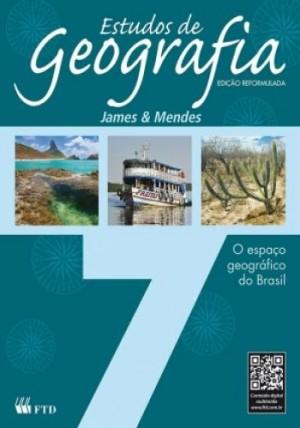 Estudos de Geografia 7º Ano - O Espaço Geográfico do Brasil