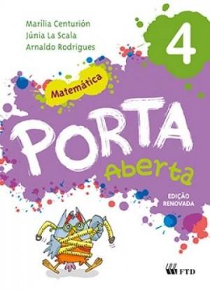 Porta Aberta Matemática 4º Ano Edição Renovada