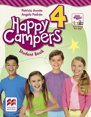Happy Campers Student Book With Skills Book  4