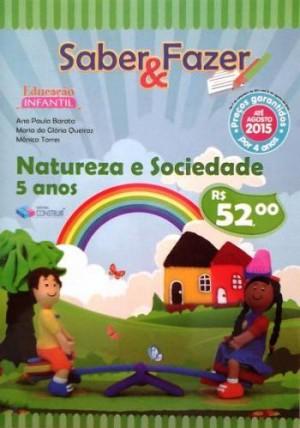 Saber e Fazer Natureza e Sociedade 5 Anos