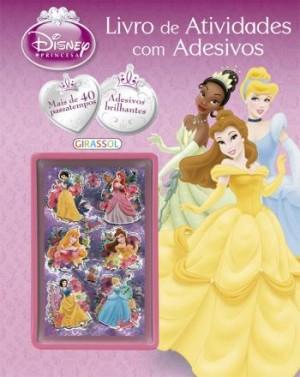 Disney Princesa - Livro de Atividades Com Adesivos