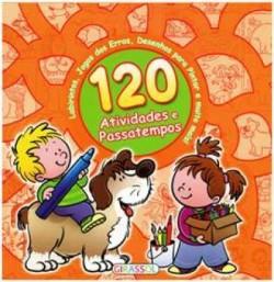 120 Atividades e Passatempos - Laranja