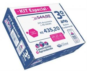 Kit Especial Construindo e Aprendendo 3º ano - 2020