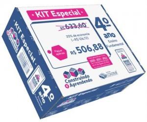 Kit Especial Construindo e Aprendendo 4º ano - 2020