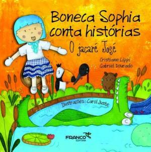 Boneca Sophia conta histórias - o jacaré José