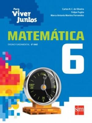 Para Viver Juntos Matemática 6º Ano - 3ª Edição