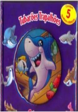 Livro Quebra Cabeça - Tubarões Trapalhões