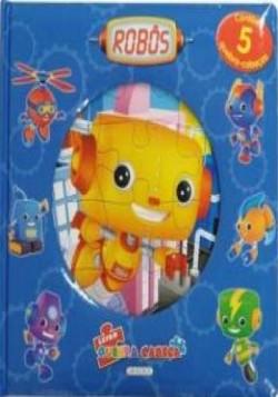 Livro Quebra Cabeça - Robós