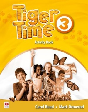 Tiger Time Activity Book 3