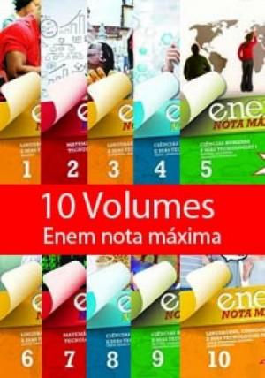 Caixa ENEM Nota Máxima - 10 Volumes