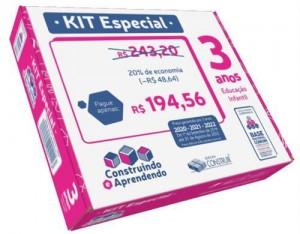 Kit Especial Construindo e Aprendendo  3 anos  - 2020