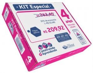 Kit Especial Construindo e Aprendendo  4 anos - 2020