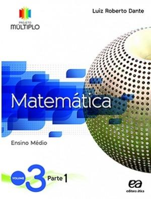 Projeto Múltiplo Matemática Volume 3 - 1ª Edição