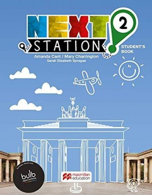 Next Station Students Book With Work Book & Clil 2