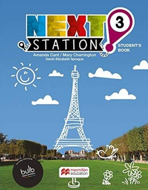 Next Station Students Book With Work Book & Clil 3