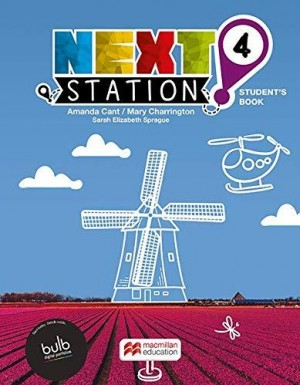 Next Station Students Book With Work Book & Clill 4