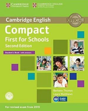 Compact First for Schools Students Book
