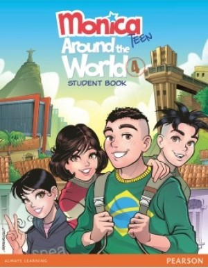 Monica Teen - Around The World 4 - Student Book
