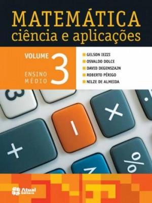 Matemática Ciência e Aplicações Volume 3 - 8ª Edição