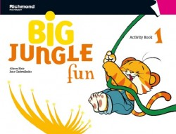 Big Jungle Fun Activity Book 1