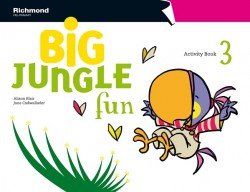 Big Jungle Fun Activity Book 3