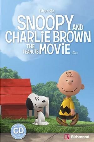 Snoopy and Charlie Brown The Peanuts Movie + CD de áudio - Nível 1