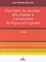 DICIONARIO DE DUVIDAS, DIFICULDADES E CURIOSIDADES DA LINGUA