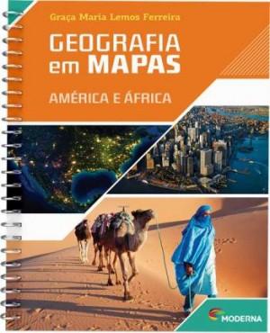 Geografia em Mapas: América e África - 5ª Edição