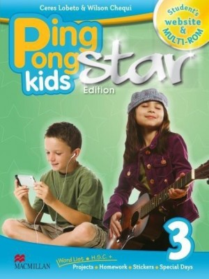 Promo - Ping Pong Kids Star Edition Students Pack - 3