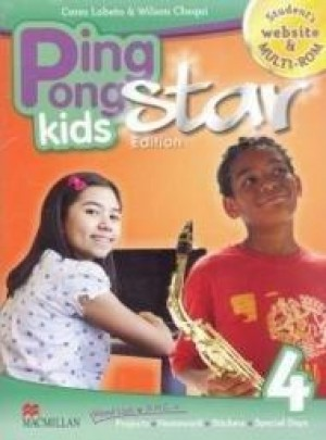 Promo - Ping Pong Kids Star Edition Students Pack - 4