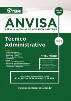 Apostila ANVISA 2016 - Técnico Administrativo