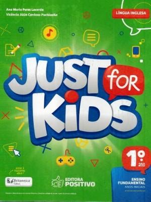 Just For Kids 1º Ano - 2018 - 3ª Edição