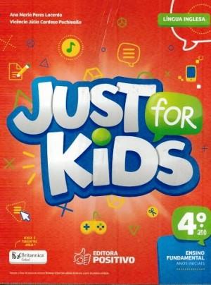 Just For Kids 4º Ano - 2018 - 3ª Edição