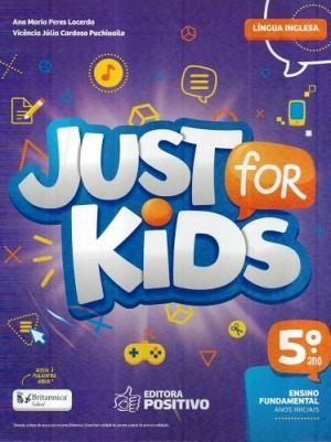Just For Kids 5º Ano - 2018 - 3ª Edição