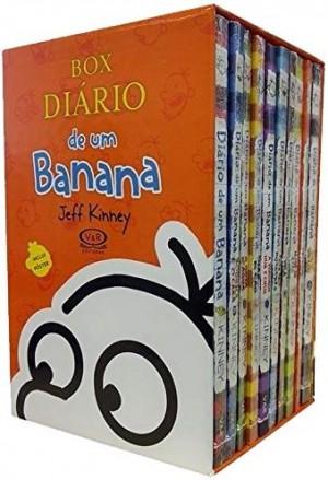 Box Diário de um Banana - 10 Volumes