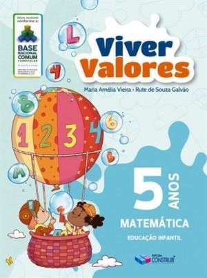 Viver Valores Matemática  5 Anos - 2019