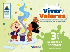 Viver Valores Natureza e Sociedade 3 Anos - 2019