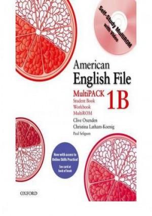 American English File 1B Multipack