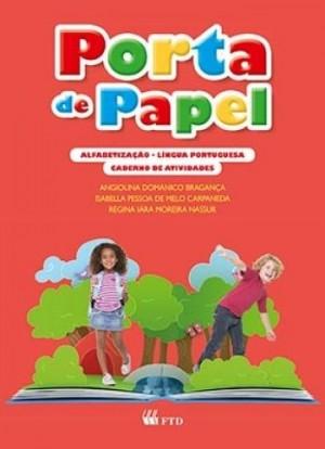 Porta de Papel Alfabetização  Português Caderno de Atividade